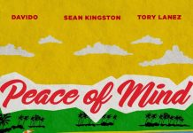 Sean Kingston Ft. Davido X Tory Lanez - Peace Of Mind (Official Audio)