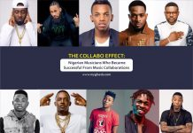 Top Nigerian Musicians Who Became Successful From Music Collaborations