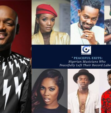 PEACEFUL EXIT: Nigerian Musicians Who Peacefully Left Their Record Labels