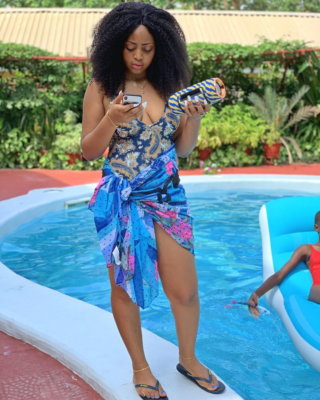 Regina Daniels Flaunts Heavy Security Guards