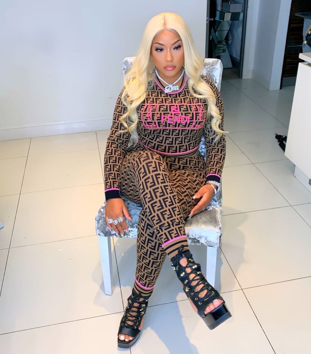 Stefflon Don Denies Breakup With Burna Boy, Claims That's An Old Video