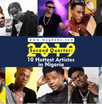 2019 Second Quarter: Meet The 10 Hottest Artistes in Nigeria Right Now!