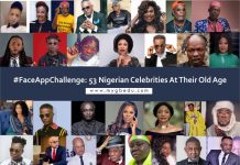 #FaceAppChallenge: Top 53 Nigerian Celebrities At Their Old Age