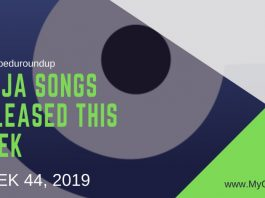 #MyGbeduRoundup Week 44, 2019: Latest Naija Songs Released This Week
